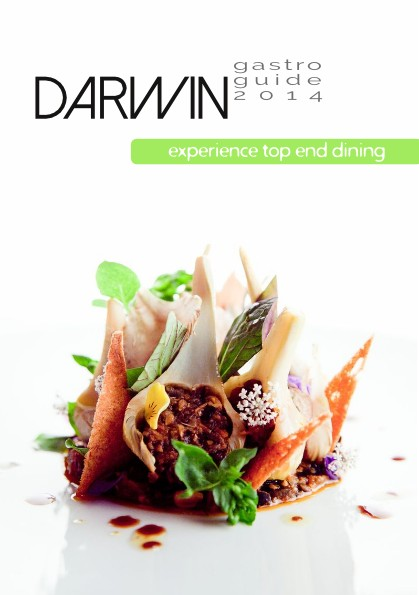 (Deutsch) Titelseite des Darwin Gastro Guide 2014[:en}front page of the Darwin Gastro Guide 2014